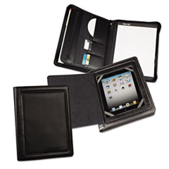 SAM70600 - Samsill® iPad Zipper Padholder With Magnetic  Flap