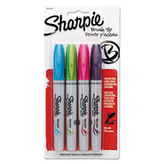 SAN1810702 - Sharpie® Brush Tip Permanent Marker