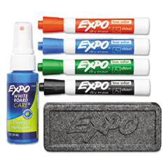 SAN80653 - EXPO® Low-Odor Dry Erase Marker Starter Set