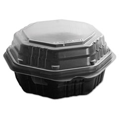 SCC806012PP94 - Solo OctaView® Hinged-Lid Hot Food Containers