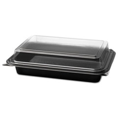 SCC844012PM94 - Solo Creative Carryouts® Hinged Plastic Hot Deli Boxes