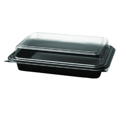 SCC864611-PS94 - Solo OctaView Hinged-Lid Cold Food Containers