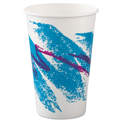 SCCRSP16PJ - SOLO® Cup Company Jazz® Paper Cold Cups