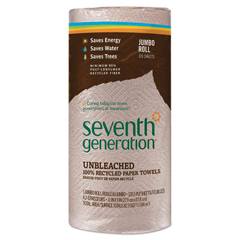 SEV13720 - Seventh Generation® Natural Unbleached 100% Recycled Paper Towel Roll
