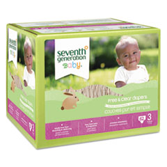 SEV44079 - Seventh Generation Baby™ Diapers