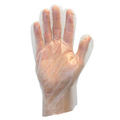 SFZGDPE-LG - Safety ZonePolyethylene Disposable Gloves - Large