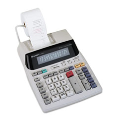 SHREL1801V - Sharp® EL1801V Fluorescent Display Two-Color Printing Calculator
