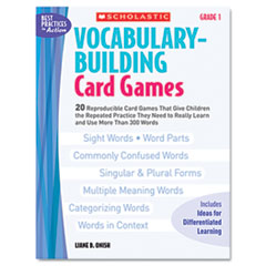 SHS0439554640 - Scholastic Vocabulary Building Card Games