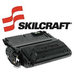 SKLQ1338A - SKILCRAFT Remanufactured Q1338A (38A) Toner, 12000 Page-Yield, Black