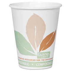 SLOOF8PLAJ7234 - Solo Bare® Eco-Forward® PLA Paper Hot Cups