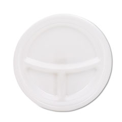 SLORSF9CW - Solo Laminated Foam Dinnerware