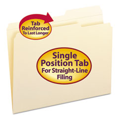SMD10386 - Smead® Reinforced Guide Height File Folders