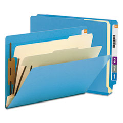 SMD26836 - Smead® Colored End Tab Classification Folders with Dividers