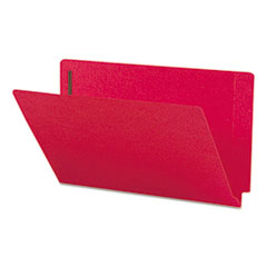 SMD28740 - Smead® Heavyweight Colored End Tab Folders with Fasteners