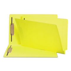 SMD28940 - Smead® Heavyweight Colored End Tab Folders with Fasteners
