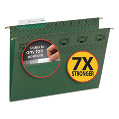 SMD64036 - Smead® TUFF® Hanging Folders with Easy Slide™ Tab