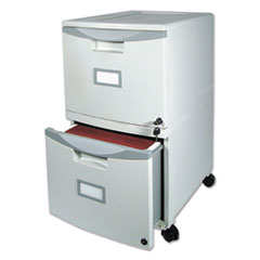 STX61301B01C - Storex Two-Drawer Mobile Filing Cabinet