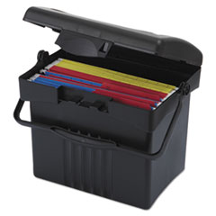 STX61502U01C - Storex File Box with Organizer