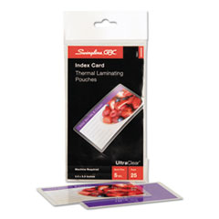 SWI3202002 - Swingline™ Fusion™ UltraClear™ Laminating Pouches