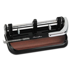 SWI74400 - Swingline® Accented Heavy-Duty Lever Action Two- to Three-Hole Punch