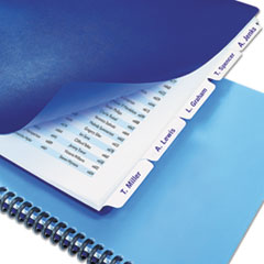 SWI9675044 - Swingline™ Customizable Index Tab Dividers for Binding Systems