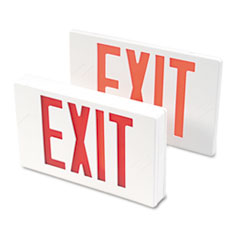 TCO07230 - Tatco LED Exit Sign with Battery Back-Up