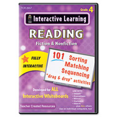 TCR2657 - Teacher Created Resources Interactive Learning Reading Software