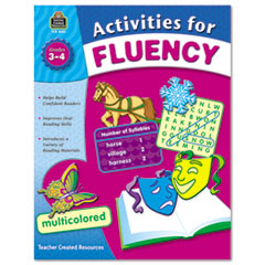 TCR8051 - Teacher Created Resources Activities For Fluency
