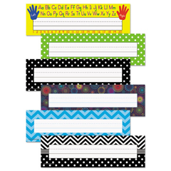 TCR9939 - Teacher Created Resources Nameplate Set