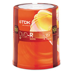 TDK48520 - TDK DVD-R Recordable Disc