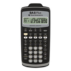 TEXBAIIPLUS - Texas Instruments BAIIPlus Financial Calculator
