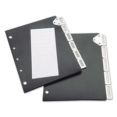 TFI50401 - Tarifold, Inc. 5-Tab Index for Catalog Rack