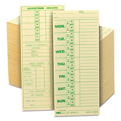 TOP1291 - TOPS® Time Card for Pyramid Model 331-10