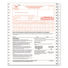 TOP2202 - TOPS® 1096 IRS Approved Tax Form