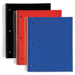 TOP59259 - TOPS® Poly 3-Subject Notebook, Wide Ruled