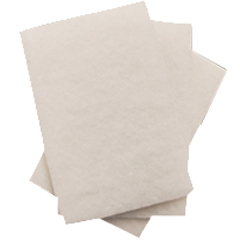 TRL0160101 - Treleoni49B White Light Duty (Fine) Scouring Pad