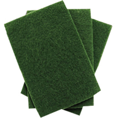 TRL0160201 - Treleoni96A Green Medium Duty Scouring Pad