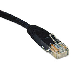 TRPN002010BK - Tripp Lite CAT5e Molded Patch Cable