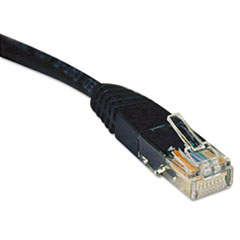 TRPN002025BK - Tripp Lite CAT5e Molded Patch Cable