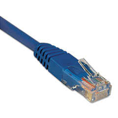 TRPN002100BL - Tripp Lite CAT5e Molded Patch Cable