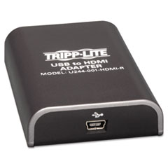 TRPU244001HDMIR - Tripp Lite USB to HDMI Adapter