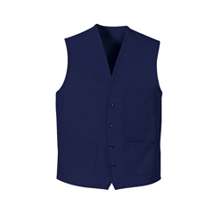 UNF1360RB-RG-3XL - Chef DesignsUnisex 4-Button Front Vest