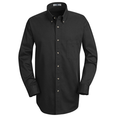UNF1T12BK-LN-L - Red KapMens Meridian Performance Twill Shirt