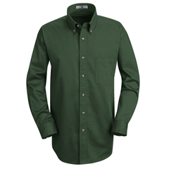 UNF1T12EM-RG-L - Red KapMens Meridian Performance Twill Shirt