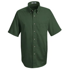 UNF1T22EM-SS-L - Red KapMens Meridian Performance Twill Shirt