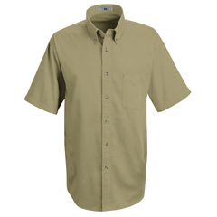 UNF1T22KH-SS-4XL - Red KapMens Meridian Performance Twill Shirt