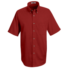 UNF1T22RD-SS-4XL - Red KapMens Meridian Performance Twill Shirt