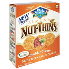 BFG20526 - Blue DiamondCheddar Cheese Nut Thins