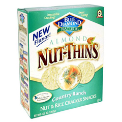 BFG20527 - Blue DiamondCountry Ranch Nut Thins