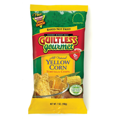 BFG35520 - Guiltless GourmetBaked Yellow Corn Salted Tortilla Chips